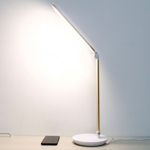 Aluminum Alloy Material Mosaic Table Lamp Modern with Touch Dimmer