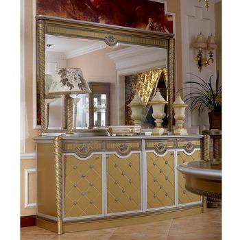 Yb16 Francese Di Lusso Louis Xv Dorato Buffet Credenza Cabinet ...