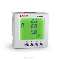 PM835 3phase digital panel smart meter 485 in current meters
