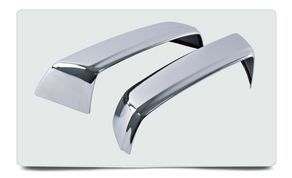 2014-2015 Chevy Silverado Accessories/ Sierra Crew Cab Door Rearview Side Mirror Cover ABS Chrome