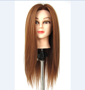 Female Mannequin Head With Hair New Hairdresser Styling Head XINJI Hot Sale