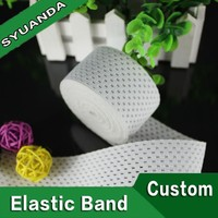 Eco-friendly material 15mm woven adjustable elastic band