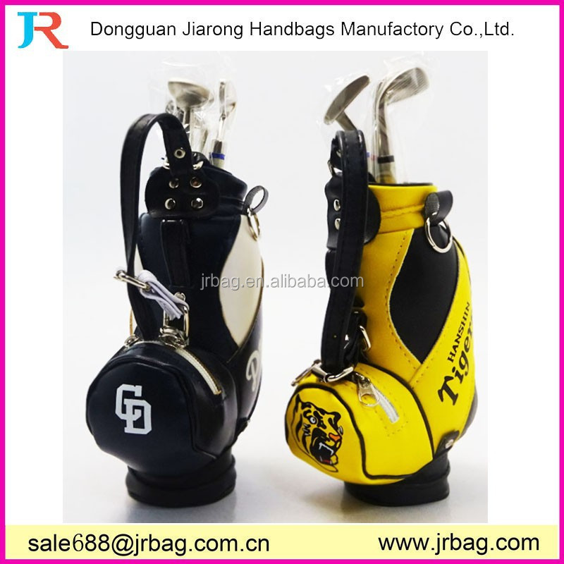 Unique design pu leather golf pen bag,golf pen suit