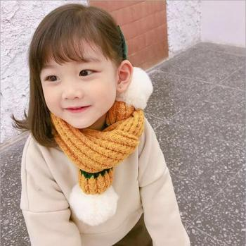 S12198B Winter baby scarf kids child cotton scarves boys girl Print O Ring scarf children collar child neck scarf