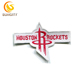Special Design Patch For NBA Baskeball Houston Rockets Embroidery Patch