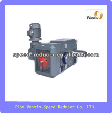 B series mill shaft drive high power gearbox with oil pump cooling fan