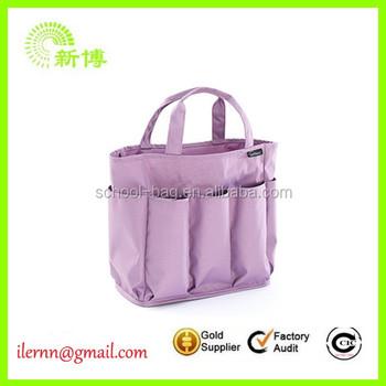 Pink Fancy Canvas Garden Tool Bag Tote
