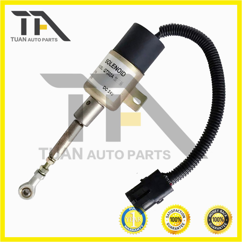 <strong>Diesel</strong> engine parts QT202A 232C-1115030A 232C-1115030A 3 pins stop solenoid