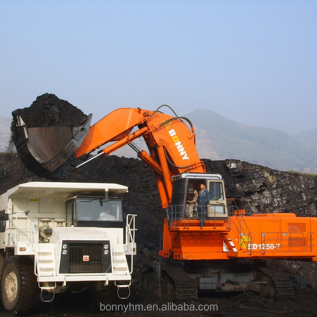 BONNY High Quality 125ton CE1250-7 Diesel Hydraulic Crawler Excavator For Sale
