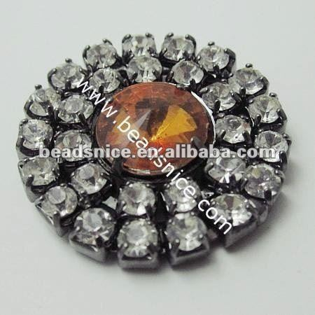Wholesale screw back buttons in Fushcia Color