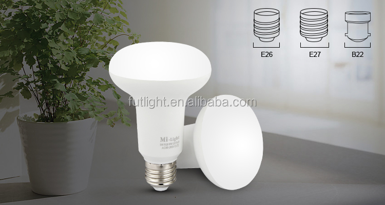 low price smart control unique style 9w par light 2.4g wireless remote mushroom lamp