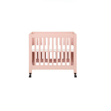 New Style Baby Bedroom Set Solid Wooden Mini Baby Cribs