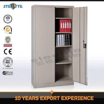 Heavy Duty Double Door Widely Used Workshop Metal Tool Storage Cabinet / Metal  Cabinet Used