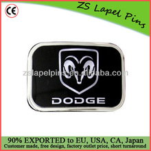 Customized logo buckle badge/ Metal buckle badge/ Fashion belt buckle