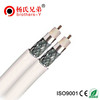 1.02mm CCS RG6 /U Coaxial Cable for CATV TV cctv camera cable