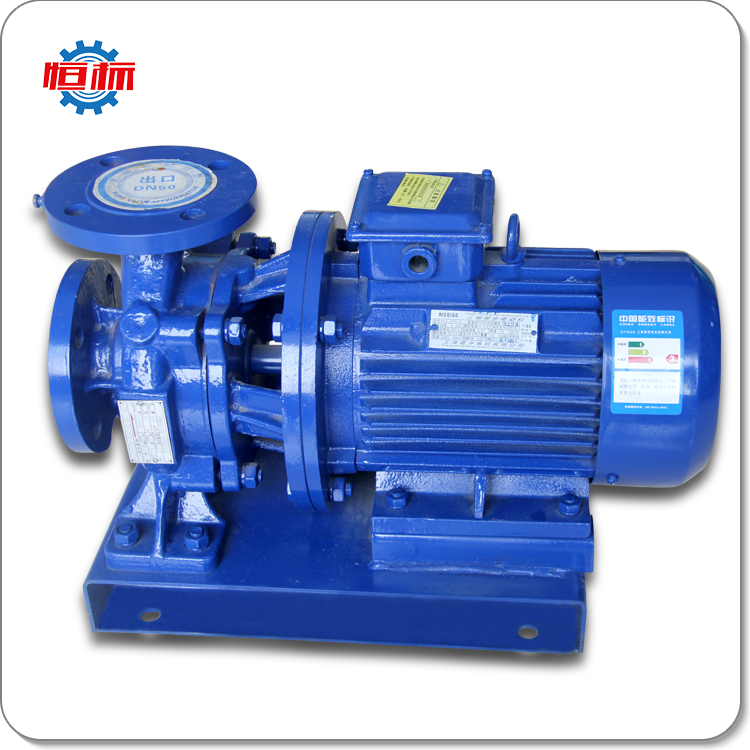 Hengbiao ISW series large flow self priming single phase hot water circulation centrifugal pump