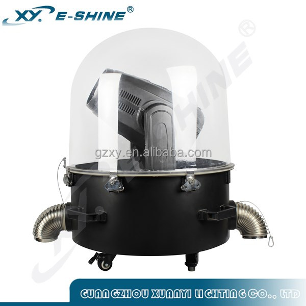 plastic outdoor light covers IP54 moving head dome rain cover