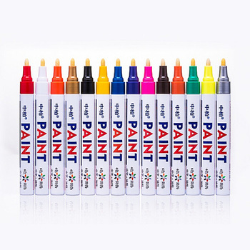 permanent markers for tire lettering paint marker pen repairing car