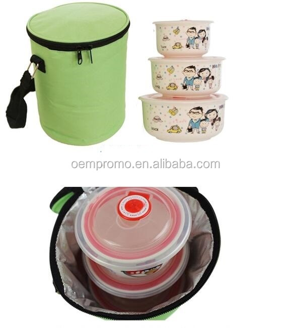 New Cylindrical Shoulder Ice Bag Cooler Bag for Women