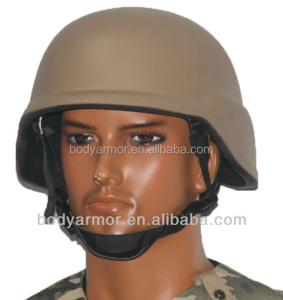 Lightweight NIJ IIIA 9mm protection Military bulletproof PASGT Helmet Typical for Police and Military User