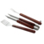 ZY-P1028 Set 3 Wood Handle BBQ Tool Set