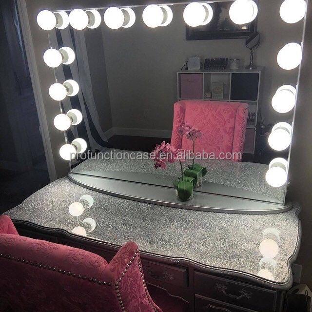 2016 Nieuwe Professionele Make Tafel Grote Size Fancy Vanity Met 13 ...