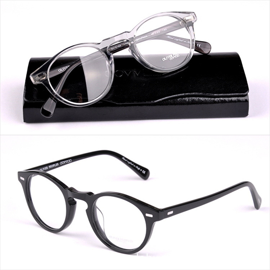ce10a6bce1a Buy Vintage optical glasses frame Oliver Peoples Men or Women OV5186  eyeglasses Gregory peck Brand designer eyewear frame Size 47mm in Cheap  Price on ...