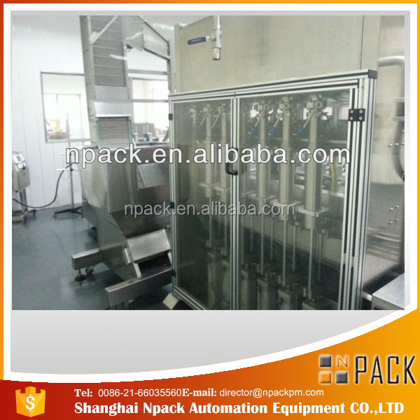 NPACK thin liquid automatic high filling machine