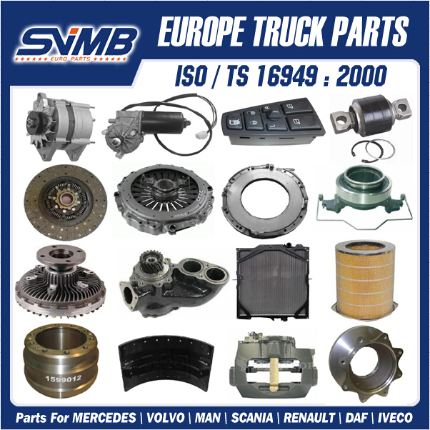 More than 1000 different Volvo FH12 truck spare parts