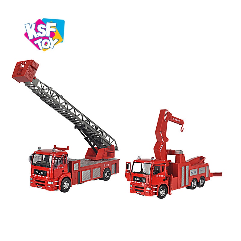 diecast car fire truck toy for wholesale