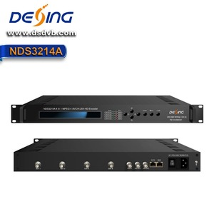 NDS3214A 1080P full hd 4 channel hd sdi to ip encoder