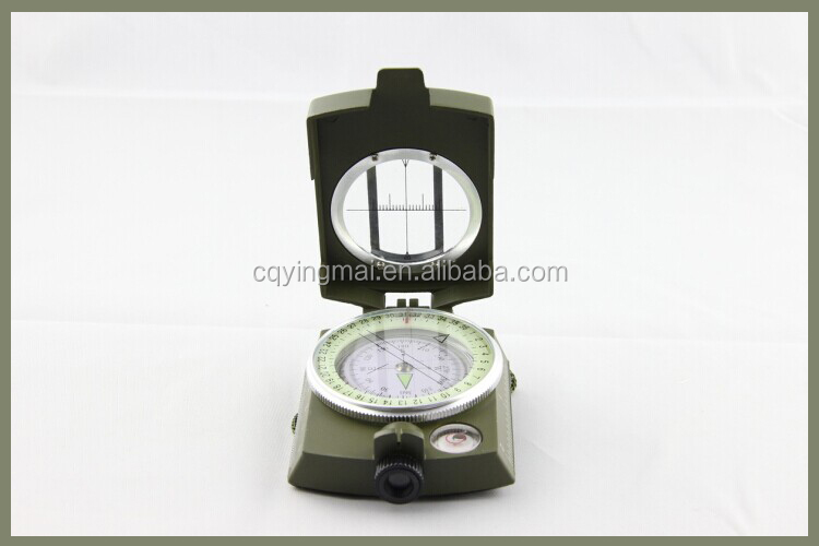 green America style compass for camping mountain compass zinc alloy