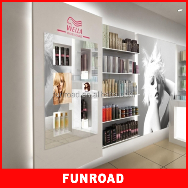 Perfume Display Stand Acrylic Cosmetics Display Unit40 Tier Shelf Mesmerizing Salon Retail Display Stands