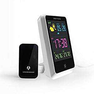 Cheap weather station humidity find weather station humidity deals get quotations wireless digital weather forecast clock alarm indoor outdoor wireless weather station temperature humidity display gumiabroncs Choice Image