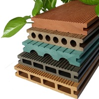 Good quality balcony floor wpc covering wpc decking anti-uv bamboo plastic composite deck
