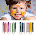Baby Kids 6 Color Face Body Painting Crayon Kit Set Sticks Party Wedding Kids Child Drawing