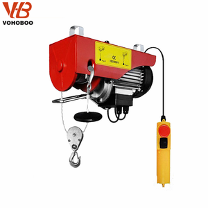 VOHOBOO MINI LIGHT DUTY ELECTRIC WIRE ROPE HOIST WINCH CONSTRUCTION CRANE LIFTING USED