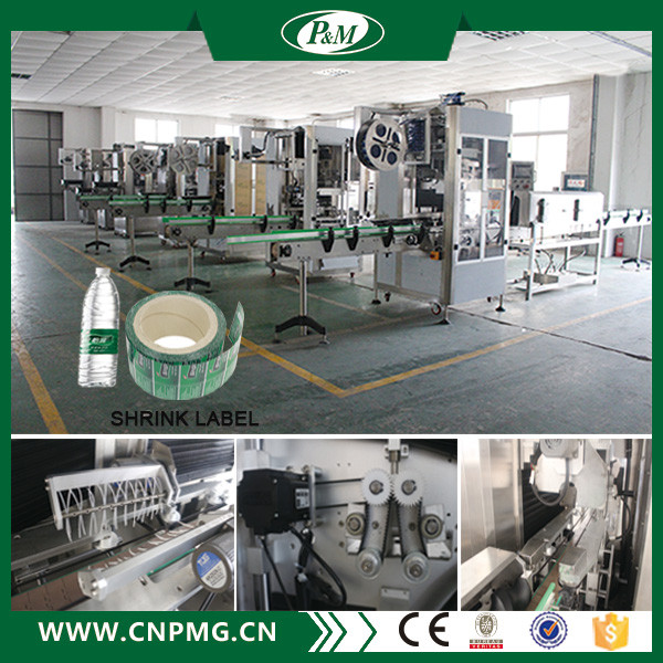 Automatic Drinking Water Bottle Labeling Machine / Equipment