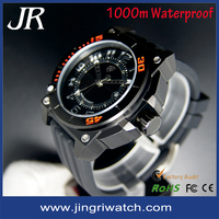Male Wrist Watch Sport Watch for Men Quartz Analog Men's Stainless Watches Dive 100M