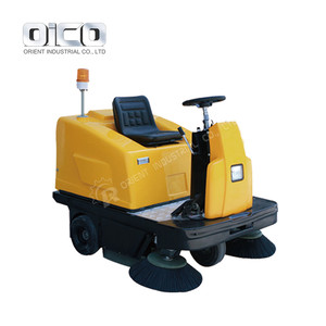 C200 Flat Ground Sweeper Industrial Outdoor Power Sweeper Parking Lot Sweeper For Sale