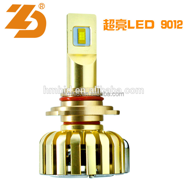 Factory Direct 9012 led headlight car, Super Bright car bulbs led H4 9012 canbus error free