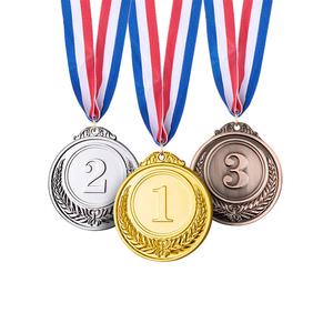 Good quality winner award gold sliver bronze medal metal for competitions