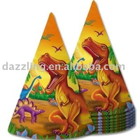 Party Cone Hat - Dinosaur