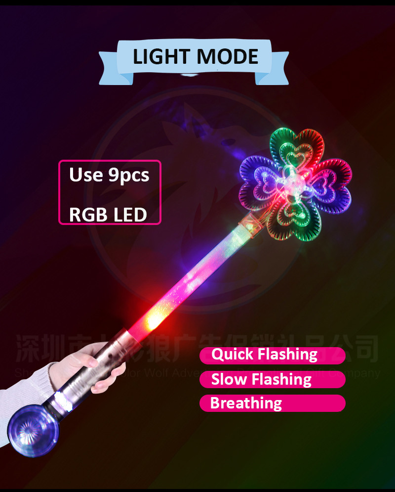 Hot Sale New Design Toys LED Night Lights Stick Manufacturer China LED Christmas Lights Toys Light up LED Wand Stick