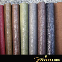 Embossed PU Breathable Sofa Artificial Leather