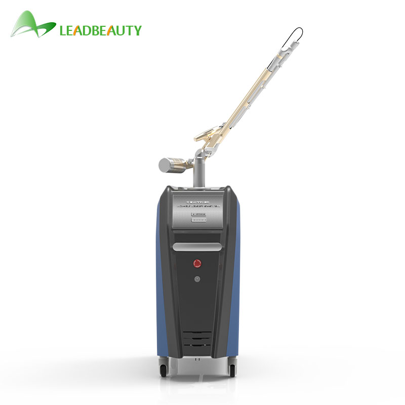 Single pulse width korea pico laser for sale q-switched nd yag salon use