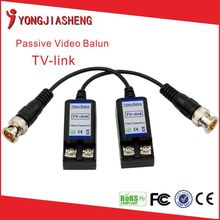 2016 top sales product of china HDCVI/AHD/HDTVI/CVBS Video Balun TV Link