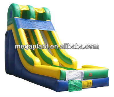 2013 hot sales backyard inflatable water slides
