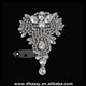 Wholesale glass stone crystal diamond applique for costume