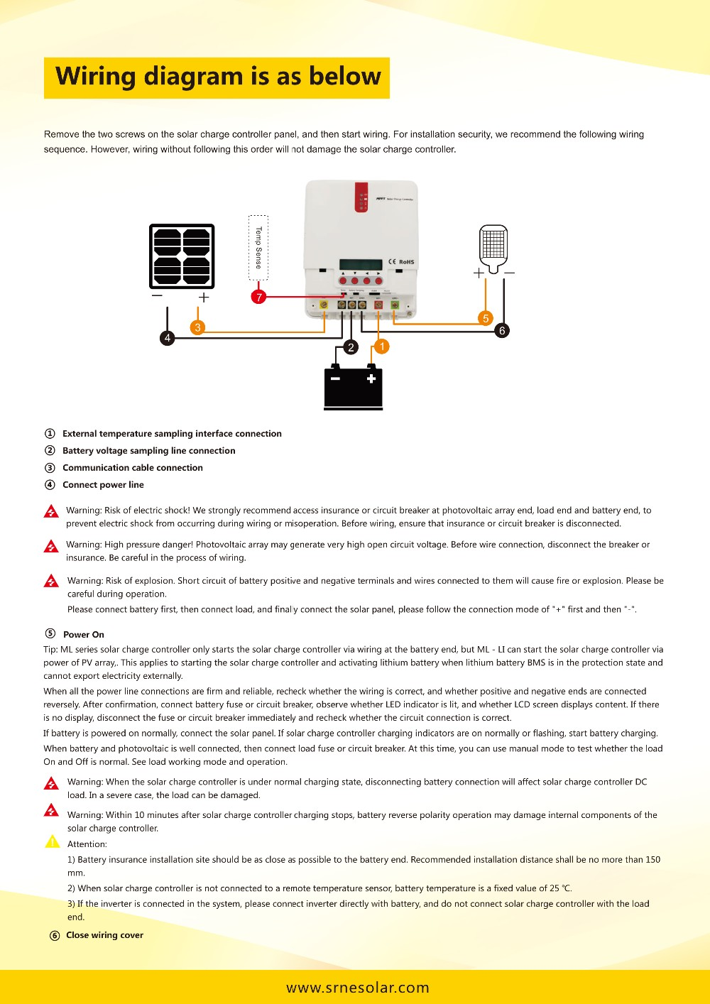 Ml Series Mppt Solar Charge Controller Hot Welcomed For Home Wiring Diagram Application